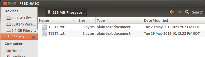 copy the two files from the Test folder into the media